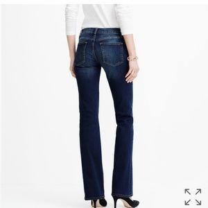 J. Crew Bootcut Dark Denim Jeans
